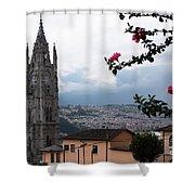 Basilica Del Voto Nacional Shower Curtain