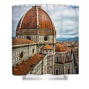 Basilica Di Santa Maria Del Fiore Shower Curtain