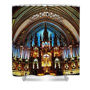 Notre - Dame Basilica - Montreal Shower Curtain