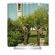 Basilica Of Our Lady Of San Juan Del Valle Shower Curtain