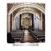 Basilica Of San Isidoro De Leon - Interior Shower Curtain