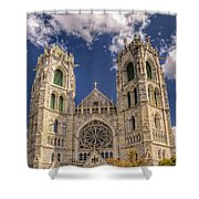 Basilica Of The Sacred Heart Newark New Jersey Shower Curtain