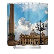 Basilica Papale Di San Pietro Shower Curtain