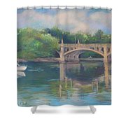Basiliere Bridge Haverhill Ma Shower Curtain