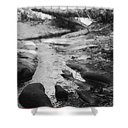 Basin Creek Shower Curtain