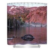 Basin Lake Sunrise 2 Shower Curtain