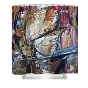 Basket-boll Dreams Shower Curtain