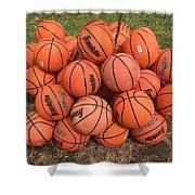 Basketbal Anyone Shower Curtain