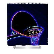 Basketball 121617-1 Shower Curtain