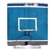 Basketball Backboard Shower Curtain