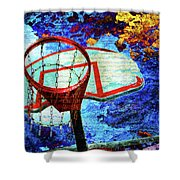 Basketball Dream Shower Curtain