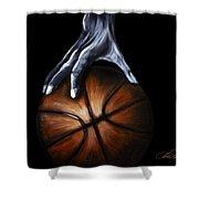 Basketball Legend Shower Curtain