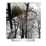 Basketball Practice Shower Curtain
