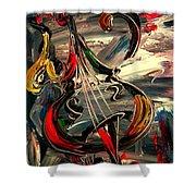 Bass Jazz Shower Curtain