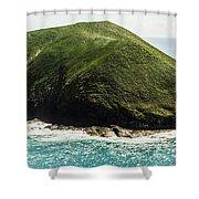 Bass Strait Island Wilderness Shower Curtain