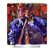 Bass Walk-up Shower Curtain