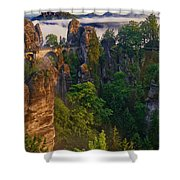 Bastei Shower Curtain