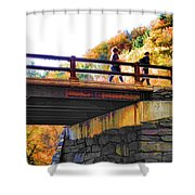 Bastion Falls Bridge 1 Shower Curtain