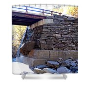 Bastion Falls Bridge 3 Shower Curtain