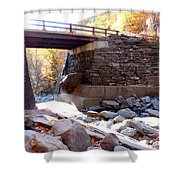 Bastion Falls Bridge 4 Shower Curtain