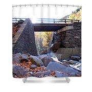 Bastion Falls Bridge 5 Shower Curtain