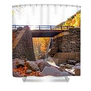 Bastion Falls Bridge 6 Shower Curtain