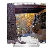Bastion Falls Bridge 7 Shower Curtain