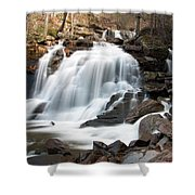 Bastion Falls In April Shower Curtain