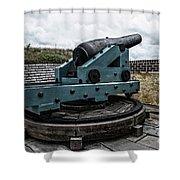 Bastion Gun Shower Curtain