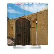 Bastion Tough Shower Curtain