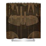 Bat Brown  Shower Curtain