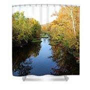 Batavia, Ohio Creek - Other Side Vertical Shower Curtain
