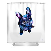 Batdog Shower Curtain