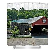 Bath Bridge Shower Curtain