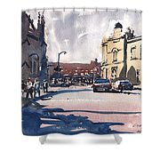 Bath Cathedral Shower Curtain