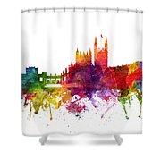 Bath England Cityscape 06 Shower Curtain