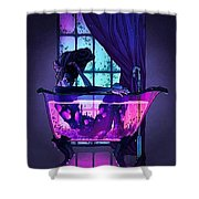Bath Shower Curtain