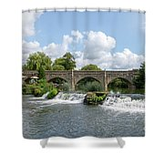 Bathampton Bridge Shower Curtain