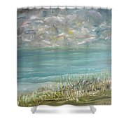 Bathed In Sweetness Shower Curtain