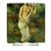 Bather 1887 1 Shower Curtain