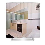 Bathroom And Bath Shower Curtain