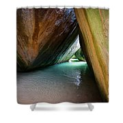 Baths At Virgin Gorda Shower Curtain