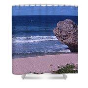 Bathsheba Beach Barbados Shower Curtain
