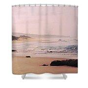 Bathsheba Coast Barbados Shower Curtain