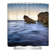 Bathsheba Flow Shower Curtain
