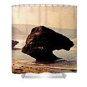 Bathsheba Rocks Shower Curtain