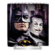 Batman 1989 Shower Curtain