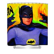 Batman, Adam West Shower Curtain