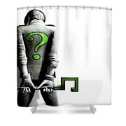 Batman Arkham City Shower Curtain