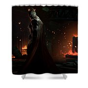 Batman Arkham Origins Shower Curtain
